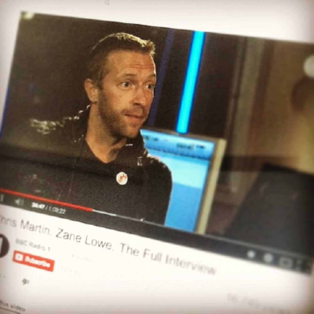 Some Reflections on BBC Radio One's Chris Martin Interview